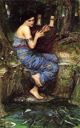 The Charmer, 1911 by Waterhouse | Painting Reproduction