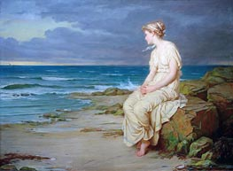 Miranda, 1875 by Waterhouse | Painting Reproduction