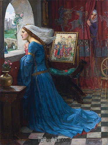 Fair Rosamund, 1916 | Waterhouse | Painting Reproduction