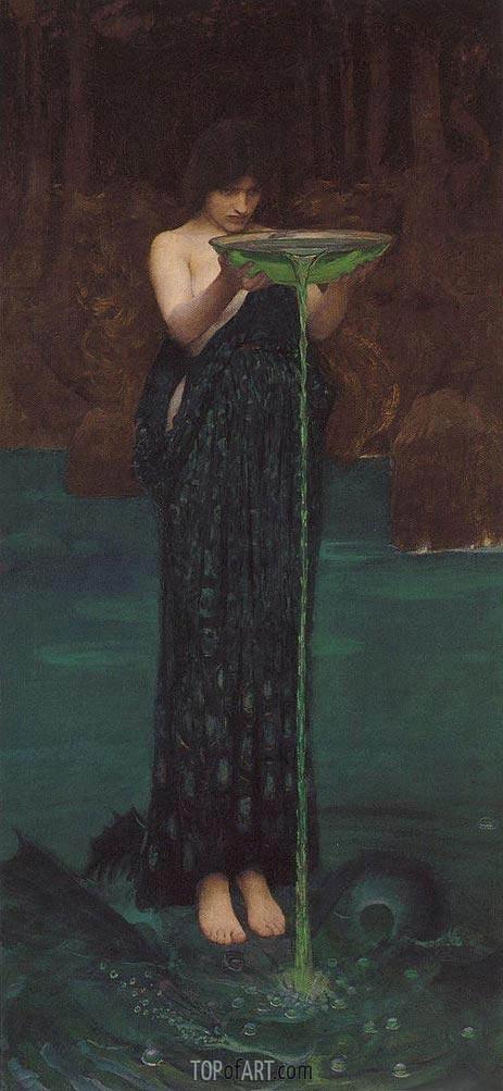 Waterhouse | Circe Invidiosa, 1892