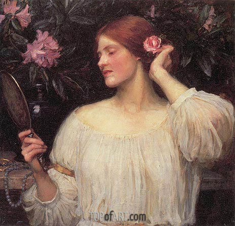 Vanity, c.1908/10 | Waterhouse| Painting Reproduction