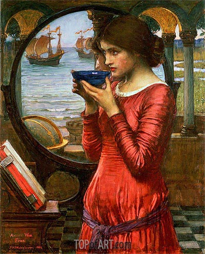 Destiny, 1900 | Waterhouse | Gemälde Reproduktion
