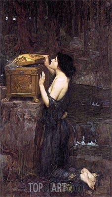 Waterhouse | Pandora, 1896