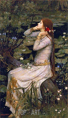 Ophelia, 1894 | Waterhouse | Painting Reproduction