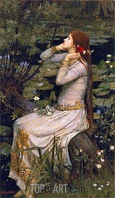 Waterhouse | Ophelia, 1894