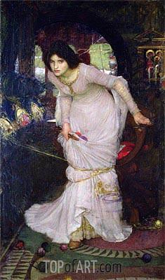 Waterhouse | The Lady of Shalott, 1894