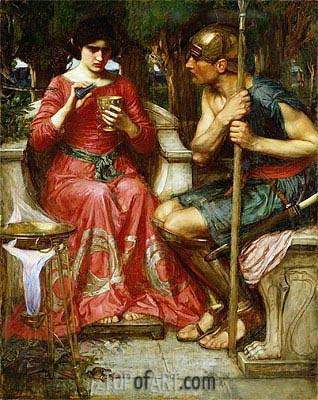 Jason and Medea,  | Waterhouse | Painting Reproduction