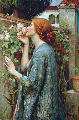 Waterhouse | The Soul of the Rose, 1908