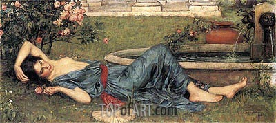 Sweet Summer, 1912 | Waterhouse | Gemälde Reproduktion