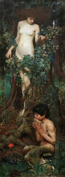 A Hamadryad, 1893 | Waterhouse | Painting Reproduction