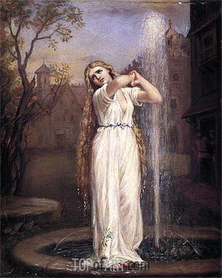 Undine, 1872 | Waterhouse| Painting Reproduction