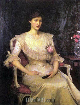 Miss Margaret Henderson, 1900 | Waterhouse | Painting Reproduction