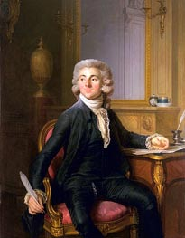 Portrait of a Gentleman (Jean-Baptiste-Francois Dupre), c.1782 by Joseph-Siffred Duplessis | Painting Reproduction