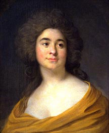 Portrait of a Woman | Joseph-Siffred Duplessis | outdated