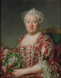 Portrait of Madame Denis | Joseph-Siffred Duplessis | Painting Reproduction