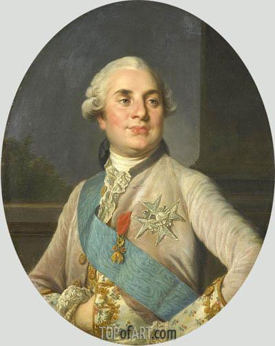 Joseph-Siffred Duplessis | Portrait of Louis XVI, c.1775/93