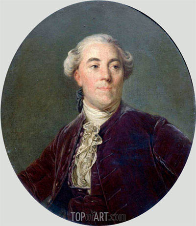 Jacques Necker, c.1781 | Joseph-Siffred Duplessis | Painting Reproduction