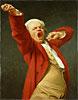 Self Portrait Yawning | Joseph Ducreux