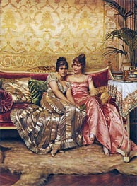 Confidences, Undated by Soulacroix | Painting Reproduction