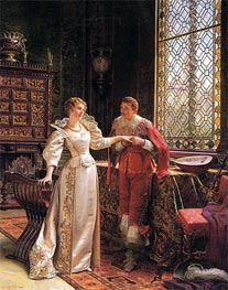 The Marriage Proposal, Undated by Soulacroix | Painting Reproduction