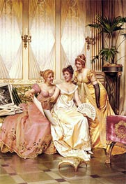 The Three Connoisseurs | Soulacroix | Painting Reproduction
