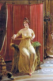 In the Dressing Room | Soulacroix | Painting Reproduction