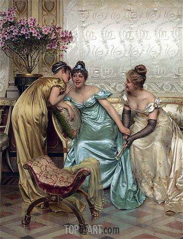 Secrets,  | Soulacroix| Painting Reproduction