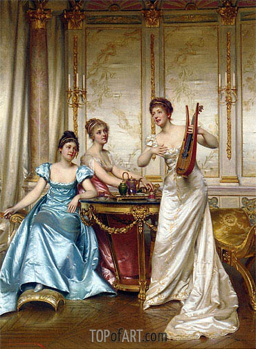 The Charming Performance,  | Soulacroix | Painting Reproduction
