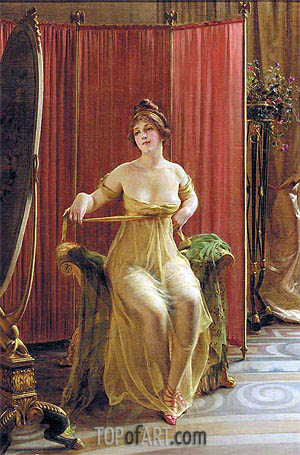 In the Dressing Room,  | Soulacroix | Painting Reproduction