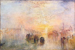 Going to the Ball (San Martino), 1846 by J. M. W. Turner | Painting Reproduction