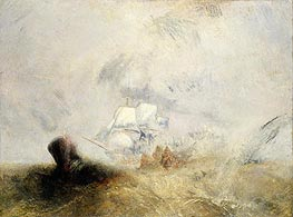 The Whale Ship, c.1845 by J. M. W. Turner | Painting Reproduction