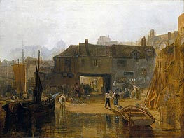 Saltash with the Water Ferry | J. M. W. Turner | outdated