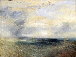 Margate from the Sea, c.1835/40 by J. M. W. Turner | Painting Reproduction