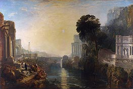 Dido Building Carthage (The Rise of the Carthaginian Empire), 1815 by J. M. W. Turner | Painting Reproduction