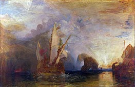 Ulysses Deriding Polyphemus - Homer's Odyssey, 1829 by J. M. W. Turner | Painting Reproduction