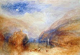 The Lauerzer See with the Mythens (Lake of Brienz) | J. M. W. Turner | outdated