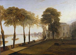 Mortlake Terrace: Early Summer Morning, 1826 by J. M. W. Turner | Painting Reproduction