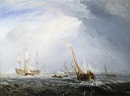 Antwerp: Van Goyen Looking Out for a Subject, 1833 by J. M. W. Turner   Painting Reproduction