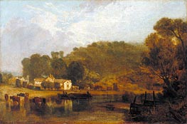 Cliveden on Thames   J. M. W. Turner   Painting Reproduction