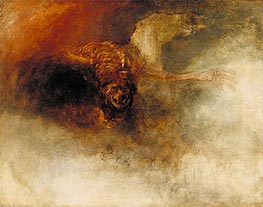 Death on a Pale Horse, c.1825 by J. M. W. Turner | Painting Reproduction