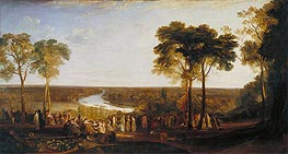 England: Richmond Hill on the Prince Regent's Birthday | J. M. W. Turner | outdated
