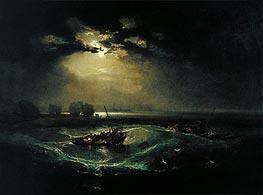 Fishermen at Sea | J. M. W. Turner | Gemälde Reproduktion
