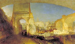 Forum Romanum, for Mr Soane's Museum, 1826 by J. M. W. Turner | Painting Reproduction