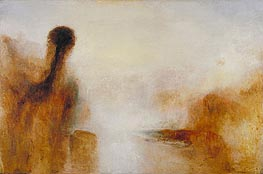Landscape with Water, c.1840/45 by J. M. W. Turner   Painting Reproduction