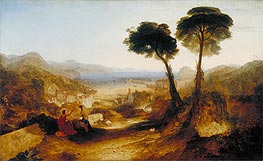 The Bay of Baiae, with Apollo and the Sibyl, 1823 by J. M. W. Turner | Painting Reproduction