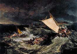 The Shipwreck, 1805 by J. M. W. Turner | Painting Reproduction
