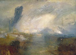 The Thames above Waterloo Bridge, c.1830/35 by J. M. W. Turner | Painting Reproduction
