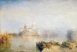 The Dogana and Santa Maria della Salute, Venice, 1843 by J. M. W. Turner | Painting Reproduction