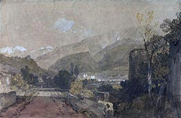 Bonneville, 1802 by J. M. W. Turner | Painting Reproduction