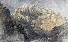 Ehrenbreitstein, 1817 by J. M. W. Turner | Painting Reproduction